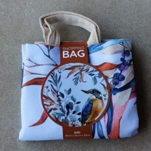 Re-Usable Shopping Bag – Kingfisher