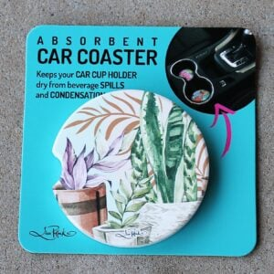 Car Coaster – Potted Plants