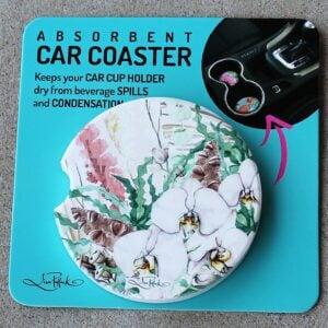 Car Coaster – Wildflowers