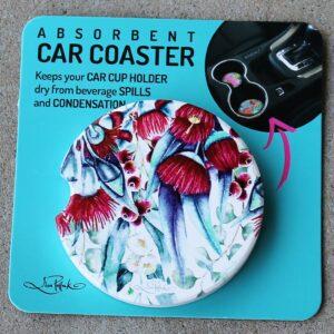Car Coaster – Gum Blossom