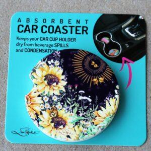 Car Coaster – Sunflowers