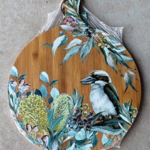 Serving Platter Round – Kookaburra
