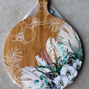 Serving Platter Round – Wildflowers