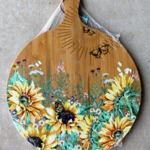 Serving Platter Round – Sunflowers