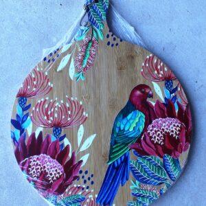 Serving Platter Round – Parrot