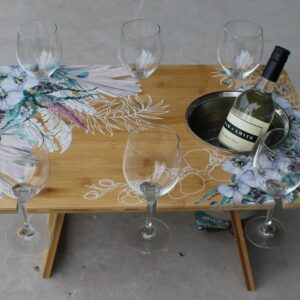 Picnic Table – Wildflowers
