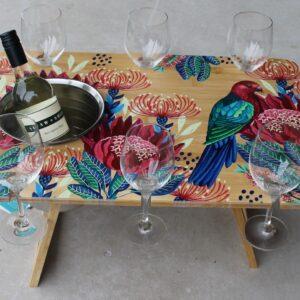 Picnic Table – Crimson Rosella