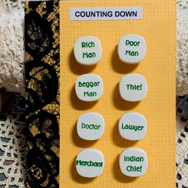 Morpeth antique centre buttons shop 4 hunter valley set of Goofie novelty vintage counting down