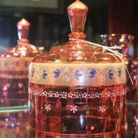 morpeth antique centre hunter valley shop 11 cranberry glass dome cheese victorian era
